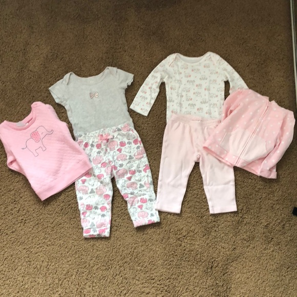 Carter's Other - Baby girl elephant outfits
